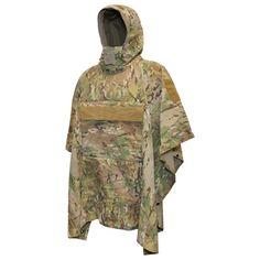 Poncho Villa™ technical soft-shell poncho by Hazard Military Poncho, Military Gear, Military Jacket, Ski Equipment, Fur Bomber, Oversized Denim Jacket, Sports Jacket, Outerwear Women, Moncler