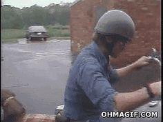 Helmets are for humans.