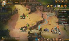 Hero Commander is a Fantasy Free-to-play Strategy MMO Game combining tactical and MMORPG elements