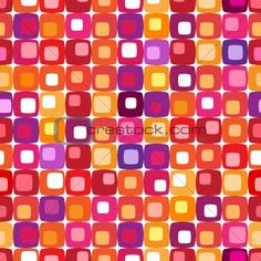 Find Retro Colorful Square Pattern Tiles Any stock images in HD and millions of other royalty-free stock photos, illustrations and vectors in the Shutterstock collection. Thousands of new, high-quality pictures added every day. 60s Patterns, Tile Patterns, Textures Patterns, Floor Cloth, Texture Design, Surface Pattern, Pattern Wallpaper, Textured Background, Color Inspiration