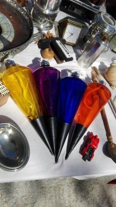 Colores de cristal.