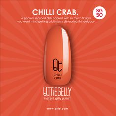 QTTiE: Qttie x SG50: Chilli Crab