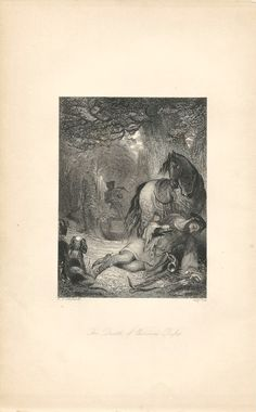 """""""The Death of William Rufus,"""" an 1841 engraving from The Book of Archery.  Available at http://www.uncannyartist.com/products/1841-prints-archery."""