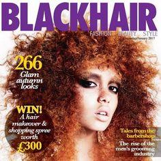 Revista de cabelo afro usa modelo branca na capa e causa polêmica