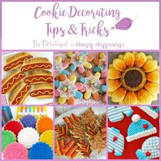 Learn fun Cookie Decorating Tips and Tricks like how to make homemade cookie cutters, make edible lace, paint on cookies, imprint fondant, and more.