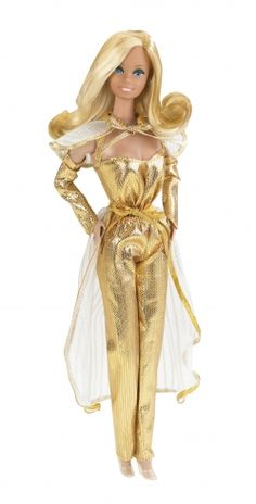 Golden Dreams Barbie 1980