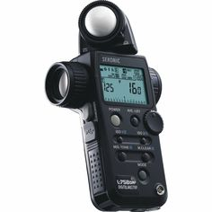 A light meter. Any light meter. Even an analog one, as long as it can go higher than ASA/ISO 800.