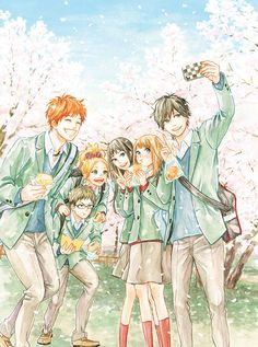 Orange. I wish for Kakeru's happiness. Let him smile like that and be happy!