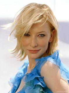 Cate Blanchett by Robert Erdmann, 2003 Cate Blanchett, Celebrity Hairstyles, Cool Hairstyles, Beautiful People, Beautiful Women, Kate Winslet, Gwyneth Paltrow, Katharine Hepburn, Famous Faces