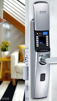 M200 fingerprint digital door lock system with timer and CE certificate