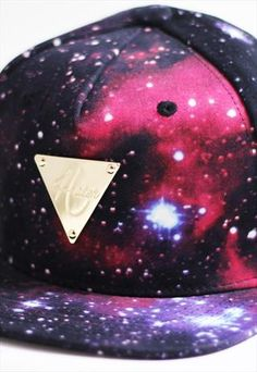 05f5d44e874 HATER GALAXY SPACE SNAPBACK CAP HAT Galaxy Space