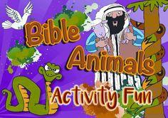 Bible Animals Activity Fun