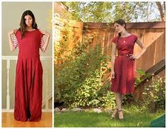 Image result for thrift store clothes refashion