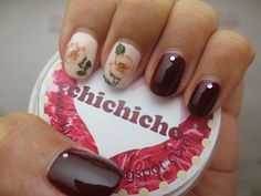 Hibiscus Flower Nail Water Decal | chichicho~ nail art addicts