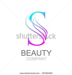 Abstract letter S logo design template with beauty industry and fashion logo.cosmetics business, natural,spa salons. yoga, medicine companies and clinics