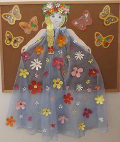 C est tre beau Preschool Classroom Decor, Kindergarten Crafts, Preschool Crafts, Easy Crafts For Kids, Projects For Kids, Diy For Kids, Diy And Crafts, Fairy Crafts, Flower Crafts