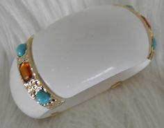 Chunky Bold Cuff Bangle Bracelet by veryfrenchbydesign on Etsy, $95.00