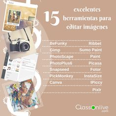 15 excelentes herramientas para editar imágenes - ClassOnLive
