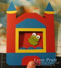 Bounce House Birthday Invitations - FREE Template