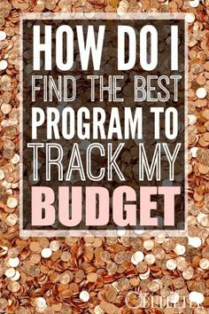 How do I find the best program to track my budget