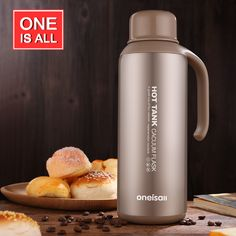 Thermos Coffee Pot Stainless Steel Larege Capacity Thermo kettle insulated Vacuum Flask Cup Thermal bottle For Water Tea Tumbler