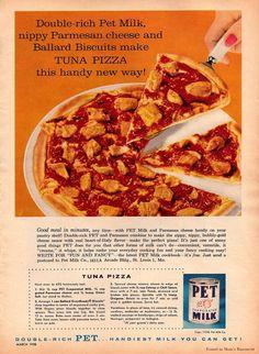Mmmmmmmm tuna pizza