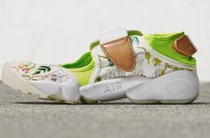 be246780eef Vivid Florals On The Liberty of London x Nike Air Rift http   SneakersCartel