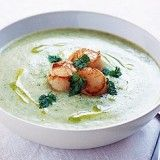 This gourmet broccoli and prawn soup is a perfect starter for any special occasion.