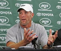 Brett Favre sent naked picutres of himself to a woman.