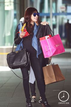 #tiffany #airport_fashion #snsd