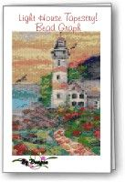 Lighthouse Tapestry : Beading Patterns and kits by Dragon!, The art of beading. (If you would like to see this on our website, please click on the picture). $25.95