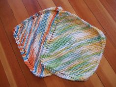 Basic knitted dish cloth - Ravelry