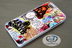 Collage Band Logo Twenty One Pilots, FOB, the 1975, Arctic Monkeys iPhone, iPad, Samsung Galaxy & HTC One Cases