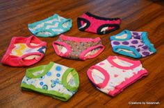 When I started potty training my nearly 2 year old, I went in search of training panties. I had been using cloth diapers before hand, and ha. Training Pants Pattern, Cloth Training Pants, Toddler Training Pants, Potty Training Girls, Potty Training Pants, Running Training, Pants Pattern Free, Free Pattern, Toddler Underwear