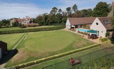 Sport: The priory, which is made up of multiple houses, has its own croquet field