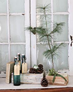 :: vintage christmas decorations ::