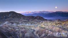 Zabriskie Point, Death Valley N.P., California
