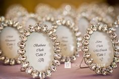 Wedding Favors AND escort cards