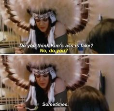 Khloe is my favorite kardashian