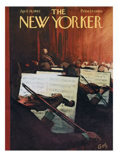 The New Yorker Cover - April 28, 1962