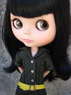 Someone just asked me if I had ever seen these dolls...said I look like a real life Pullip doll..Blythe doll. ummm creepy?
