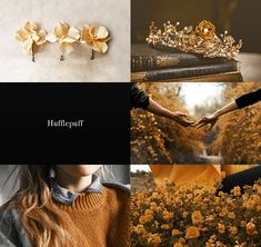 Hufflepuff & Horned Serpent on We Heart It Hufflepuff Common Room, Ravenclaw, Horned Serpent Ilvermorny, Harry Potter Aesthetic, Harry Potter Fandom, Hogwarts Houses, Aesthetic Collage, Character Aesthetic, Editing Pictures