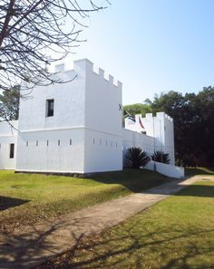 Fort Nongqayi, eShowe, South Africa was build in 1883 by the British to house the Zululand Native Police. Today it is a museum.