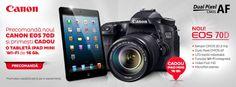 iPad mini Cadou la noul Canon EOS 70D Ipad Mini, Canon Eos 70d, Technology, Tablet Computer, Tech, Tecnologia
