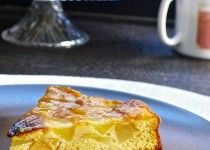PEAR FLOGNARDE Rustic Cake, Flan, French Toast, Breakfast, Pudding, Morning Coffee, Creme Brulee