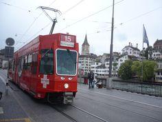 #Zurich traditional tram