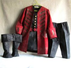 A Custom Made Child's Pirate Coat/Jacket Size by EraOfMakeBelieve, $79.50