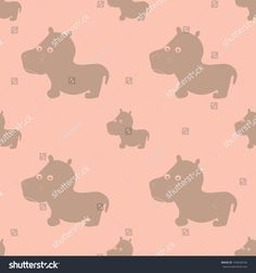 animal, art, baby, background, cartoon, character, child, color, cute, decoration, design, fabric, funny, graphic, hippo, hippopotamus, illustration, kid, pattern, print, seamless, textile, texture, wallpaper, jpg, jpeg, vector