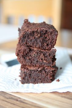 The Best Brownies?  Likely so, since they put coffee in them.