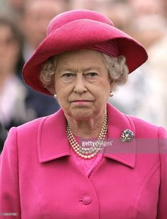 Queen Elizabeth Ii Attends The Final Of The Queen'S Cup At Guards Polo Club In Windsor. .